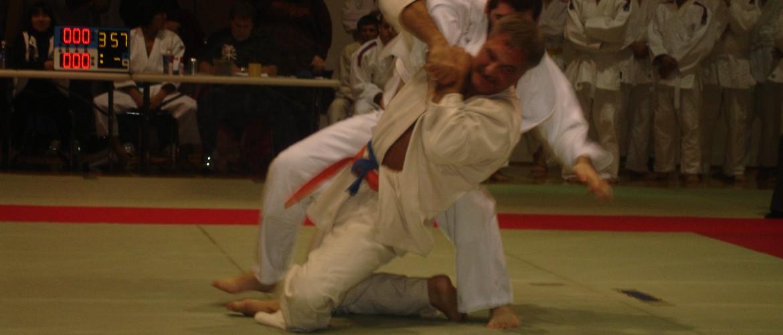 Judo tani otoshi
